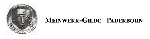 Logo for Meinwerk Gilde